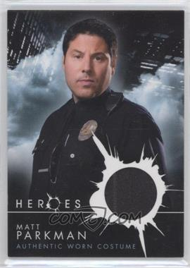 2008 Topps Heroes Authentic Worn Costumes #MAPA - Matt Parkman