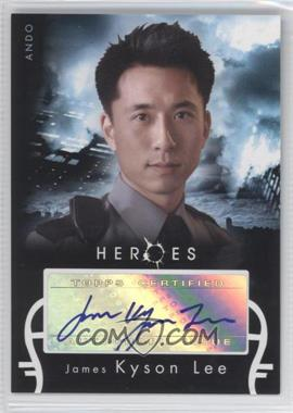 2008 Topps Heroes Autographs #JLA - James Kyson Lee as Ando