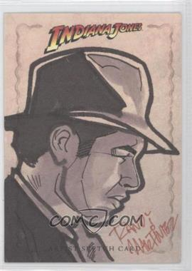 2008 Topps Indiana Jones Heritage Sketch Cards #N/A - Randy Martinez /1