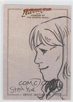 Woman Sketch Card /1