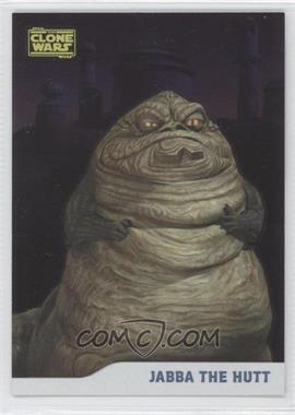2008 Topps Star Wars: The Clone Wars - [Base] - Foil #13 - Jabba The Hutt /205