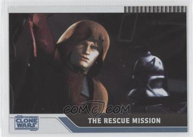 2008 Topps Star Wars: The Clone Wars - [Base] - Foil #42 - The Rescue Mission /205