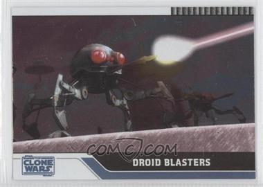2008 Topps Star Wars: The Clone Wars - [Base] - Foil #43 - Droid Blasters /205