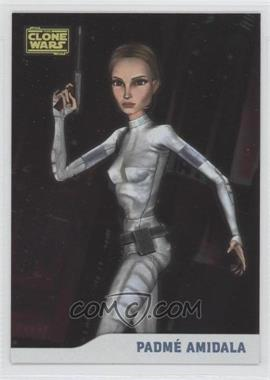 2008 Topps Star Wars: The Clone Wars - [Base] - Foil #5 - Padme Amidala /205