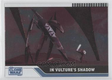 2008 Topps Star Wars: The Clone Wars - [Base] - Foil #56 - In Vulture's Shadow /205