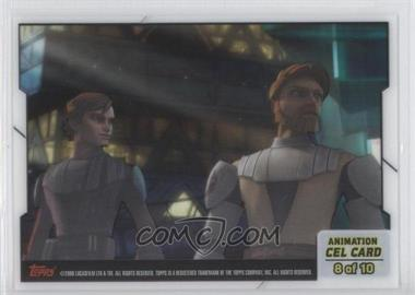 2008 Topps Star Wars: The Clone Wars Animation Cel #8 - [Missing]