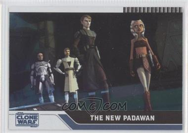 2008 Topps Star Wars: The Clone Wars Foil #25 - The New Padawan /205