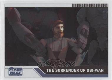 2008 Topps Star Wars: The Clone Wars Foil #33 - The Surrender of Obi-Wan /205