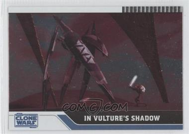 2008 Topps Star Wars: The Clone Wars Foil #56 - In Vulture's Shadow /205