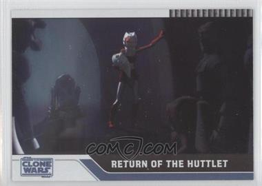 2008 Topps Star Wars: The Clone Wars Foil #86 - Return of the Huttlet /205