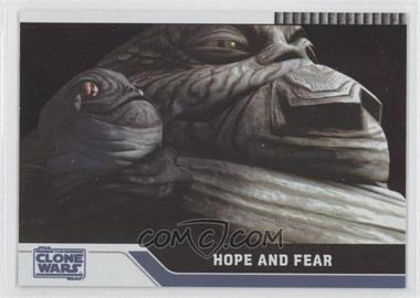 2008 Topps Star Wars: The Clone Wars Foil #88 - Hope and Fear /205