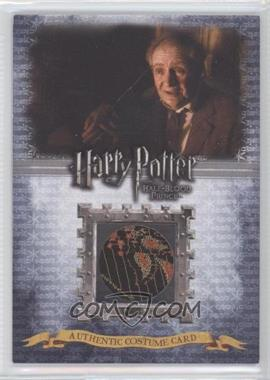 2009 Artbox Harry Potter and the Half-Blood Prince - Costume Cards #C6 - Jim Broadbent as Horace Slughorn /580
