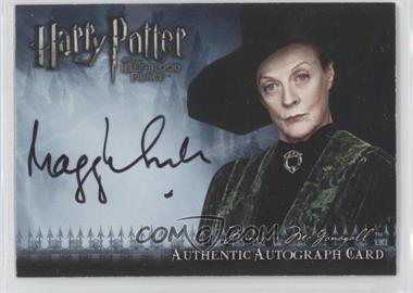 2009 Artbox Harry Potter and the Half-Blood Prince Autographs #DASM - Dame Maggie Smith as Minerva McGonagall