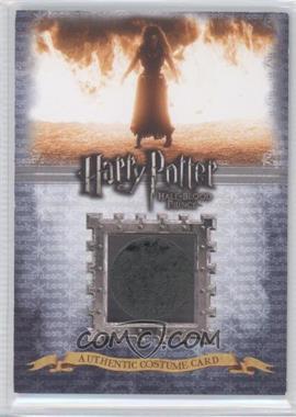 2009 Artbox Harry Potter and the Half-Blood Prince Costume Cards #C1 - Helena Bonham Carter as Bellatrix Lestrange