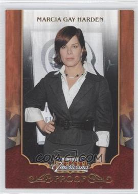 2009 Donruss Americana - [Base] - Retail Proofs Gold #3 - Marcia Gay Harden /100