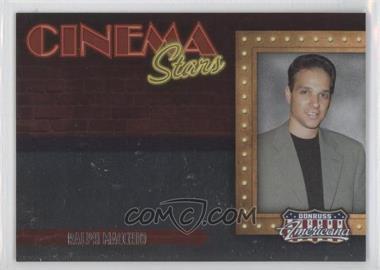 2009 Donruss Americana - Cinema Stars #13 - Ralph Macchio /1000
