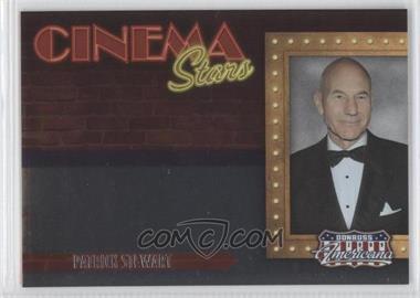 2009 Donruss Americana - Cinema Stars #18 - Patrick Stewart /1000