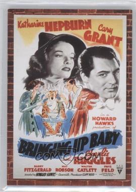 2009 Donruss Americana - Movie Posters - Materials #27 - Katharine Hepburn /500