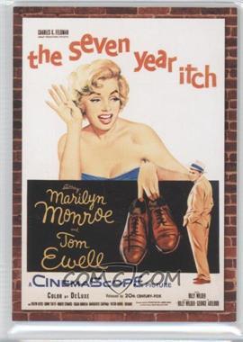 2009 Donruss Americana - Movie Posters - Materials #65 - Marilyn Monroe /500