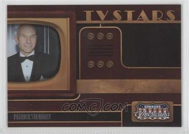 2009 Donruss Americana - TV Stars #5 - Patrick Stewart /1000
