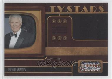 2009 Donruss Americana - TV Stars #7 - Peter Graves /1000