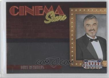 2009 Donruss Americana Cinema Stars #15 - Burt Reynolds /1000
