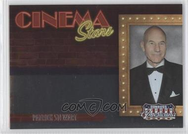 2009 Donruss Americana Cinema Stars #18 - Patrick Stewart /1000