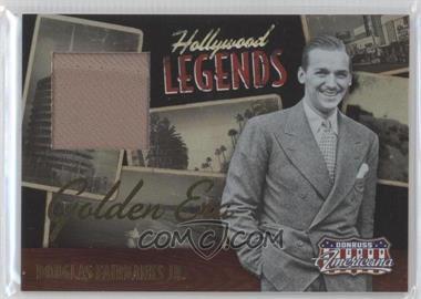2009 Donruss Americana Hollywood Legends Golden Era Materials [Memorabilia] #12 - Douglas Fairbanks Jr. /50