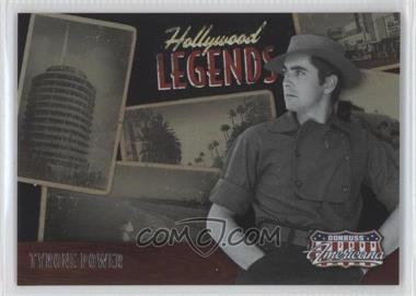 2009 Donruss Americana Hollywood Legends #21 - Tyrone Power /1000