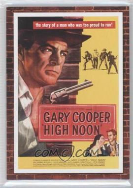 2009 Donruss Americana Movie Posters Materials Combos #11 - Gary Cooper, Grace Kelly /500