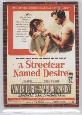 2009 Donruss Americana Movie Posters Materials Combos #15 - Marlon Brando, Vivien Leigh /500