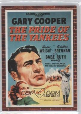 2009 Donruss Americana Movie Posters Materials Combos #64 - Gary Cooper, Teresa Wright /500