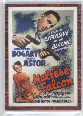 2009 Donruss Americana Movie Posters Materials Combos #7 - Humphrey Bogart, Mary Astor /250
