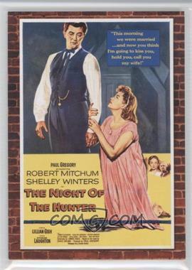 2009 Donruss Americana Movie Posters Materials Triples #61 - Lillian Gish, Robert Mitchum, Shelly Winters /500