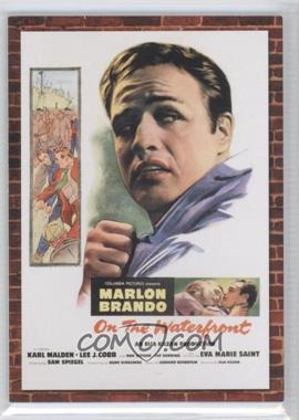2009 Donruss Americana Movie Posters Materials #2 - Marlon Brando /500