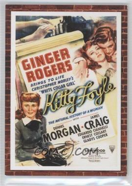 2009 Donruss Americana Movie Posters Materials #54 - Ginger Rogers /500