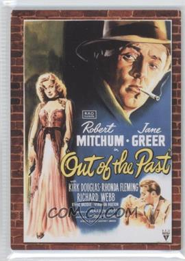 2009 Donruss Americana Movie Posters Materials #60 - Robert Mitchum /500