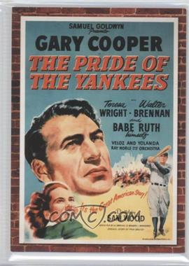 2009 Donruss Americana Movie Posters Materials #64 - Gary Cooper /500