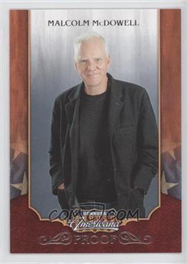 2009 Donruss Americana Retail Proofs Silver #42 - Malcolm McDowell /250