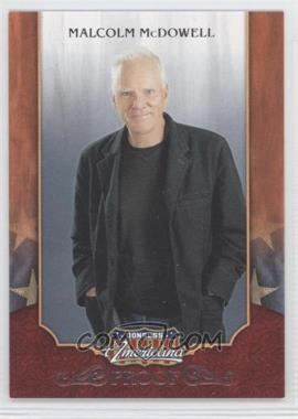 2009 Donruss Americana Retail Proofs Silver #42 - Malcolm McDowell /250