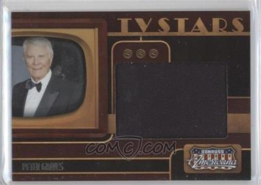 2009 Donruss Americana TV Stars Big Screen Materials [Memorabilia] #7 - Peter Graves
