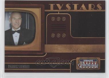 2009 Donruss Americana TV Stars #5 - Patrick Stewart /1000