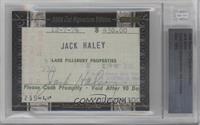 Jack Haley [BGS AUTHENTIC]