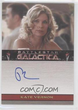 2009 Rittenhouse Battlestar Galactica Season 4 Autographs #KAVE - Kate Vernon as Ellen Tigh