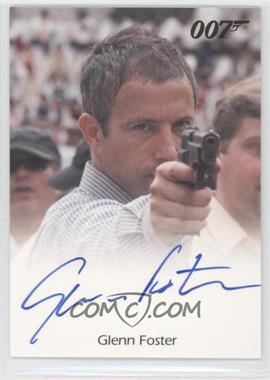 2009 Rittenhouse James Bond: Archives - Full-Bleed Autographs #N/A - Glenn Foster as Mitchell