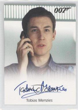 2009 Rittenhouse James Bond: Archives Full-Bleed Autographs #N/A - Tobias Menzies as Villiers