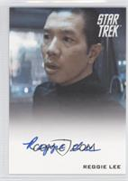 Reggie Lee as Test Administrator