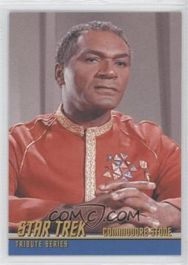 2009 Rittenhouse Star Trek The Original Series: Archives - Tribute Series #T11 - Percy Rodriguez as Commodore Stone