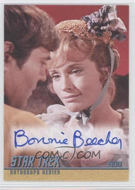 2009 Rittenhouse Star Trek The Original Series: Archives Autographs #A190 - Bonnie Beecher as Sylvia