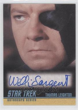 2009 Rittenhouse Star Trek The Original Series: Archives Autographs #A216 - [Missing]